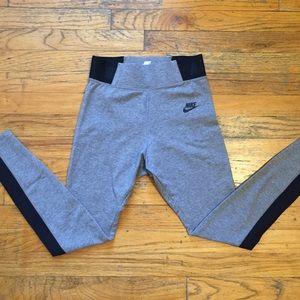 Nike Grey/ Black Running Pants